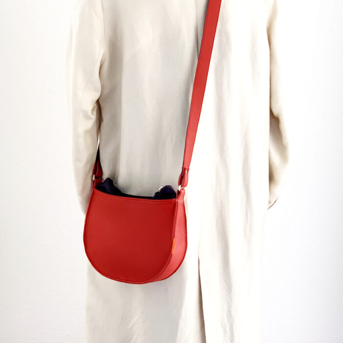 MARINAbags rode leren tas, uniek en handgemaakt, arnhem
